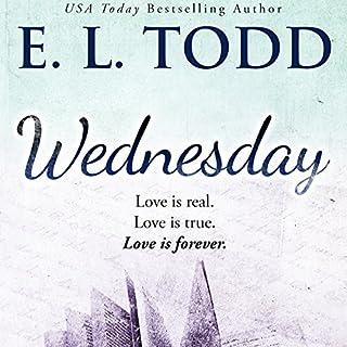Wednesday audiobook cover art