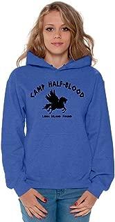 Awkward Styles Women's Camp Half-Blood Hoodie Greek Hooded Sweatshirt