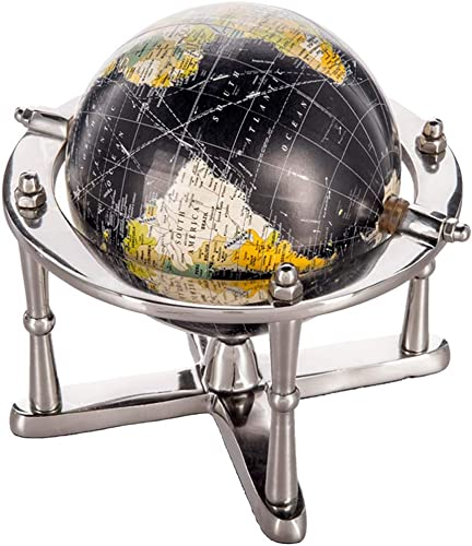 Globus Ornamente, Wohnaccessoires studieren Dekoration Aluminium Regal,Small