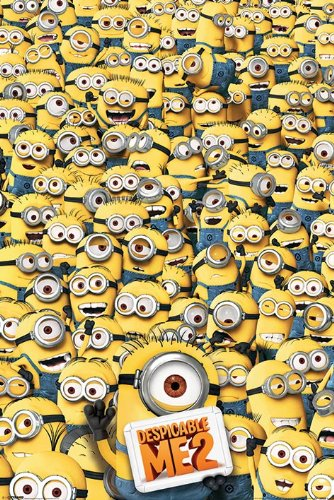 Despicable Me 2 Many Minions Movie Cool Wall Decor Art Print Poster 24x36