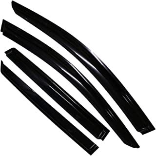 OBQ 43 top shield sunroof moonroof visorCompatible with This Roof Visor Can Only Fit The Sunroof//Moonroof Which Is Not Wider Than 41.8Please Measure The Size Of The Window Wind Deflectors