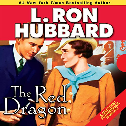 The Red Dragon audiobook cover art