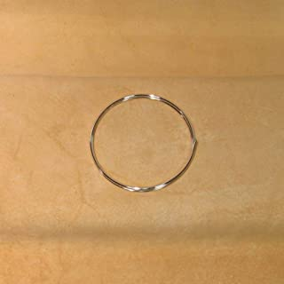 Golden State Silver 99.99% Pure Silver 14 Gauge (0.064 in. / 1.63 mm) Wire - 24 inch Coil (2 feet) - Guaranteed 99.99%+