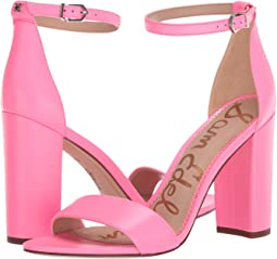 Electric Pink Neon Butter Nappa Leather