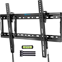 Tilt TV Wall Mount Bracket Low Profile for Most 37-70 Inch LED LCD OLED Plasma Flat Curved Screen TVs, Large Tilting Mount...
