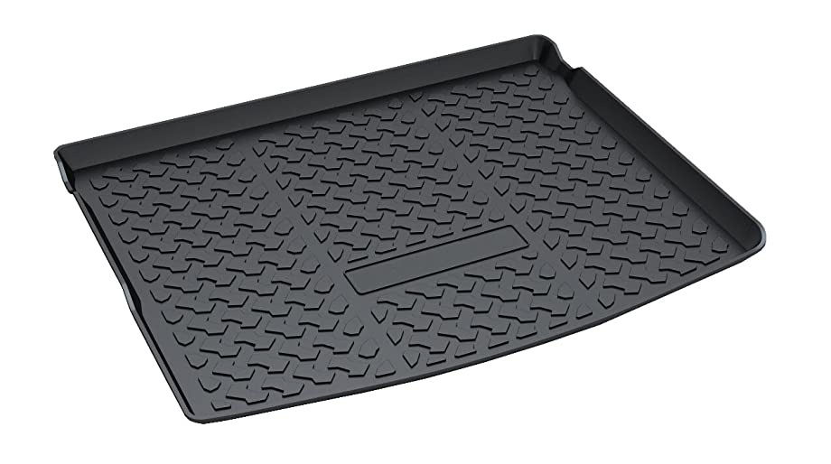 Vesul Rear Trunk Cargo Cover Boot Liner Tray Carpet Floor Mat Fits on All-New Jeep Compass 2018 2019