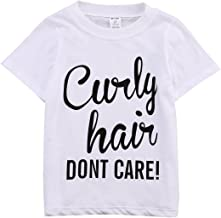 curly hair don t care toddler shirt