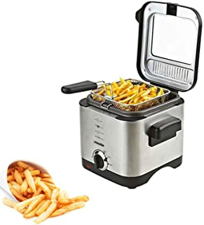 Adler Deep Fryer for Capacity of 1.5 Liter with 900 W Power MS 4910, Silver