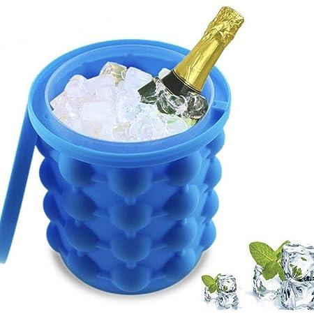 bo/îte de compl/ément alimentaire en silicone glace au whisky Seau /à glace en silicone bac /à glace en silicone eau de gla/çon et artefact de glace en pierre de vin