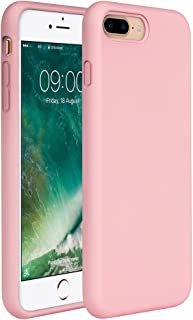 Miracase iPhone 8 Plus Silicone Case, iPhone 7 Plus Silicone Case Gel Rubber Full Body Protection Shockproof Cover Case Drop Protection for Apple iPhone 7 Plus/iPhone 8 Plus(5.5