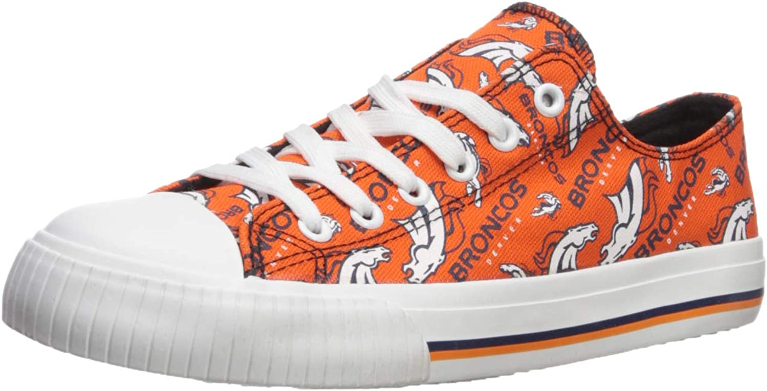NFL Womens NFL Low Top Repeat Print Canvas shoes - Womens