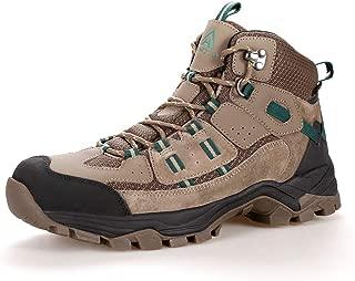 Men's Lightweight Waterproof Leather Hiking Boots Outdoor Walking Shoe