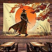 タペストリー 壁掛けの日式神奈川の浮世絵のサーフィンの背景の布insは布の壁の布の枕元を掛けて壁掛けネットの赤い背景の壁の布の絵を飾ります