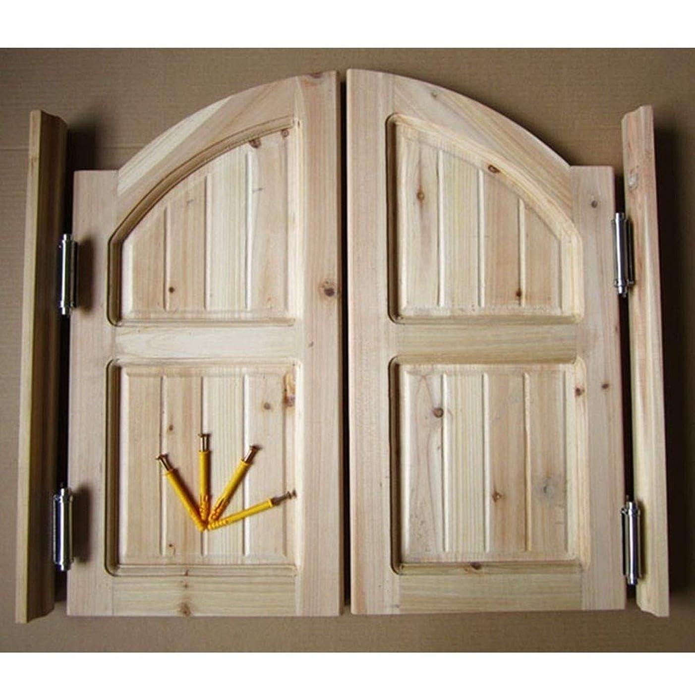 最小スノーケル定刻GuoWei サルーン ドア カフェ ドア 揺れる ドア エントランス 戸口 飲食店 キッチン つかいます、 ヒンジ 含まれ、 サポート カスタマイズ (Color : A, Size : 80x80cm)