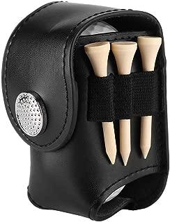 VGEBY1 Golf Ball Pouch, Mini Pocket Golf Ball Bag Holder with Golf Divot Repair Tool, Ball, Tee