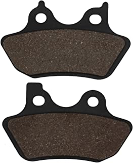 Cyleto Front & Rear Brake Pads for Harley Davidson FXDL FXDLI Dyna Low Rider 2000-2006 / FXDWG FXDWGI Dyna Wide Glide 2000-2006