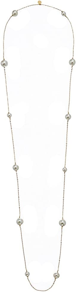 Majorica - Pearl 18K Gold Long Chain Necklace