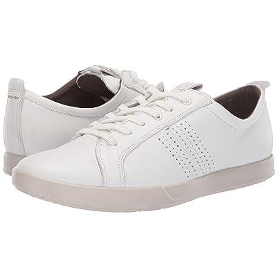 ECCO Collin 2.0 Trend Sneaker (White Leather) Men