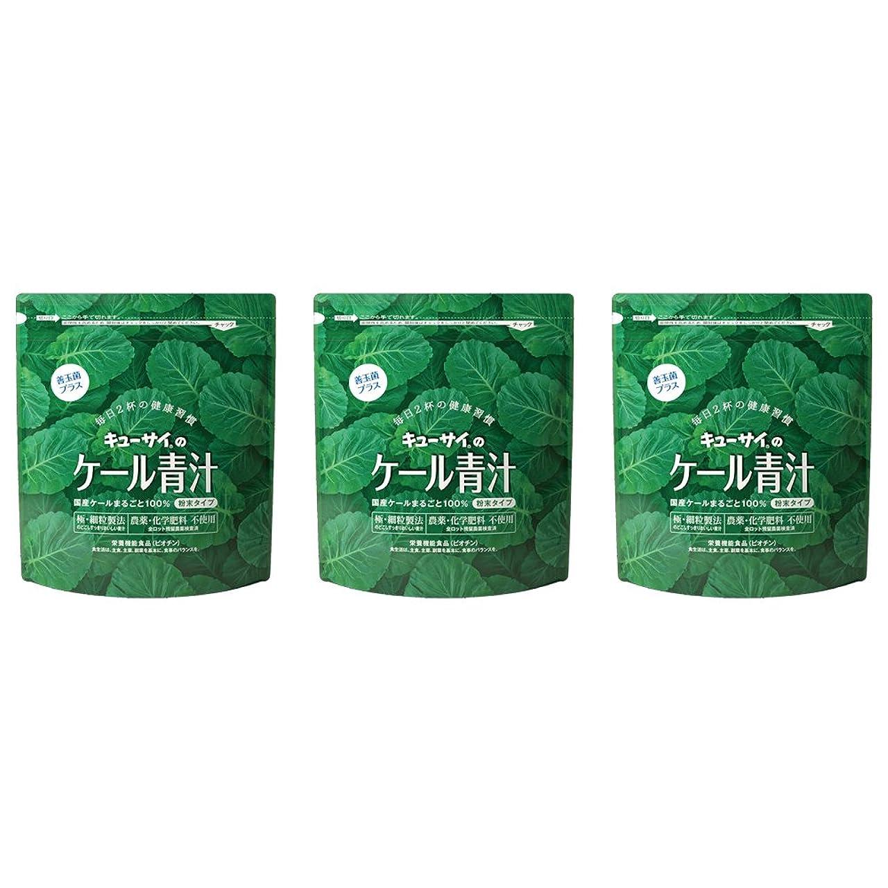 プレゼンテーション賞賛する批判的にケール青汁善玉菌プラス 3袋/キューサイ青汁