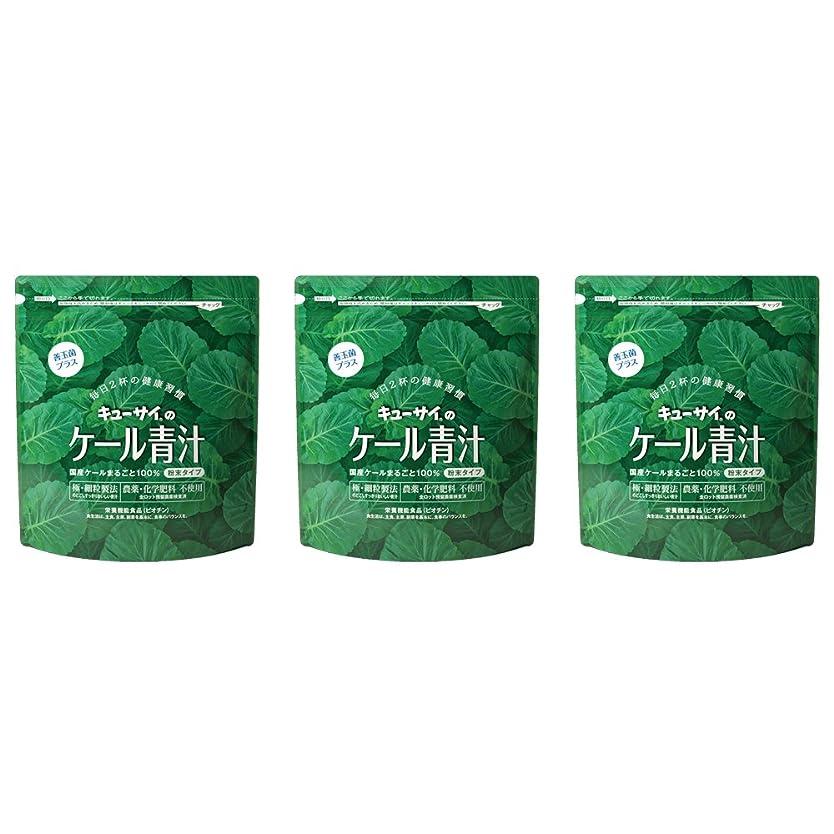 少ないアヒル武器ケール青汁善玉菌プラス 3袋/キューサイ青汁