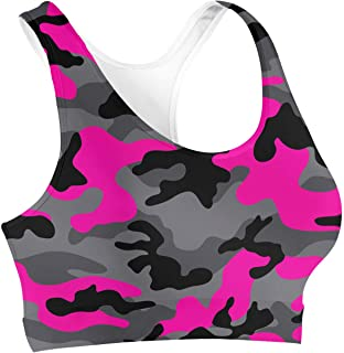 Rainbow Rules Dark Camouflage Sports Bra