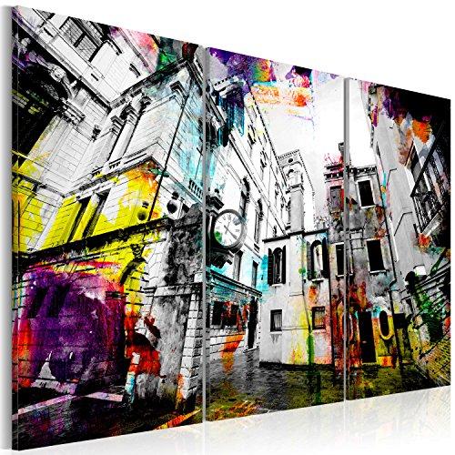 murando - Cuadro en Lienzo 120x80 cm Impresión de 3 Piezas Material Tejido no Tejido Impresión Artística Imagen Gráfica Decoracion de Pared Architecture 020101-162