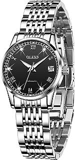 Women Watch Automatic Self Winding Luxury Watches for Womens Solid Stainless Steel Luminous Waterproof Ladies Bracelet Wrist Watch Gift