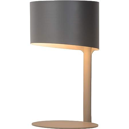 Lucide 45504/01/36 Lampe de Table, Métal, 40 W, Anthracite