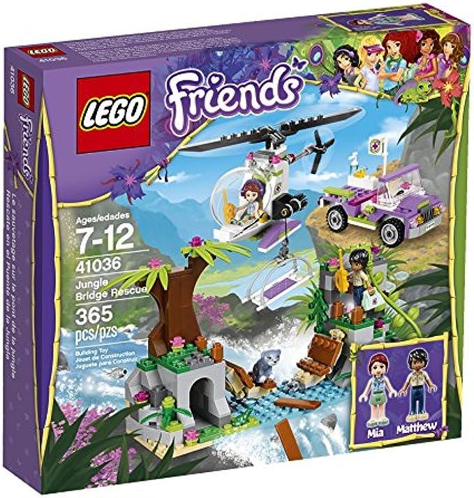 LEGO Friends 41036 Jungle Bridge Rescue