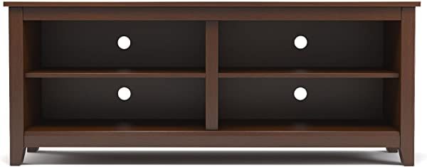 Gibson Living Mission 58 Inch Wood TV Console In Espresso