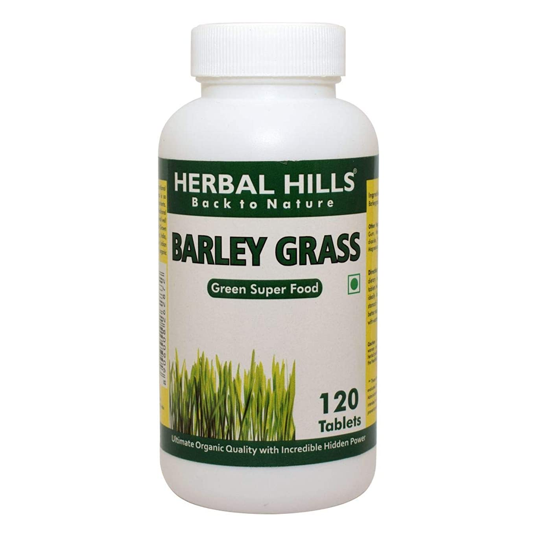 オピエート幸運なことにステレオBarley Grass Food Supplement 500mg, 120 Tablets - 大麦草食品サプリメント