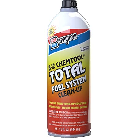 Berryman 2616 B-12 Chemtool Total Fuel System Clean-Up Easy Pour-In Metal Can, 16-Ounce, Fluid