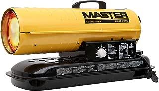 Master Kerosene Forced Air Heater, 5.0 gal, 0.52 GPH, BtuH Output 75,000, 1875 sq. ft.