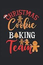 "Equipo de repostería navideña: Libro de cocina en blanco para escribir en ti mismo 120 páginas 6 ""x 9"" (15, 24 cm x 22, 86..."