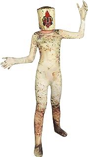 زي الأطفال المخيف للأولاد SCP 173 أزياء الهالوين التنكرية على شكل الفول السوداني واللباس لعمر 5-12 عامًا
