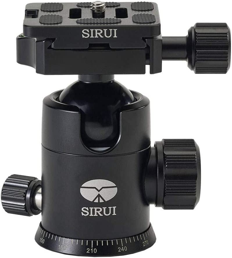 SIRUI Many popular brands Max 50% OFF E-20 Aluminium Head Ball Tripod