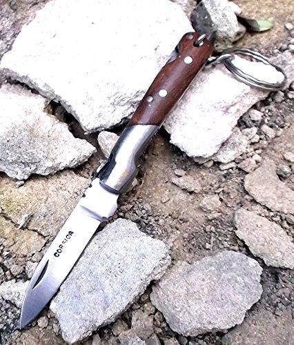 laguiole artisan Corsica Vendetta 2771 - Llavero con mango de madera de palisandro para hombre