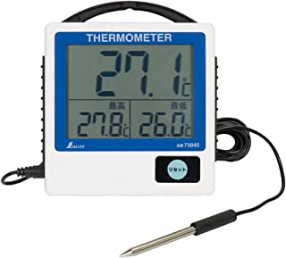 シンワ測定(Shinwa Sokutei) デジタル温度計G-1 隔測式 防水型 73045