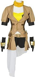 RWBY Yang Xiao Long Cosplay Costume Yellow Trailer Uniform
