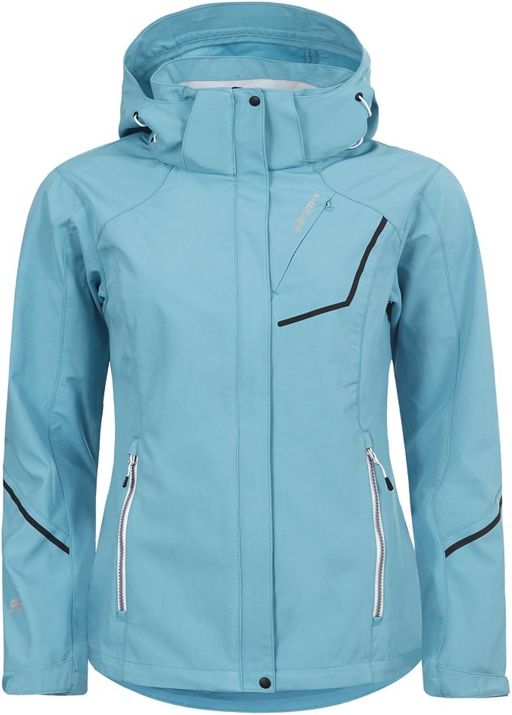 (36, blueee  Light blueee)  Icepeak Satu Women's Softshell Jacket