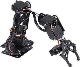 Homyl DIY Hot Smart 6-Dof Robot Mechanical Arm Servo Controlled For Arduino Learning Robotics Assembly Kits