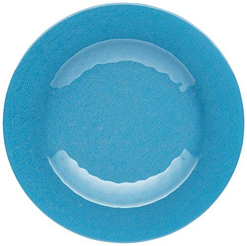 Kitchen Craft We Love Verano Ceramic-style, Placa de cena, melamina, Azul, 22 cm, 8.5 inches