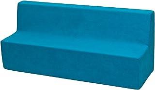 Velinda Canapé, Sofa, lit, Meubles Chambre d'enfant, Jeu Confort Repos (Couleur: Bleu)