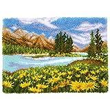 Vervaco Kit de alfombra de gancho con cierre, Colores variados, No se aplica