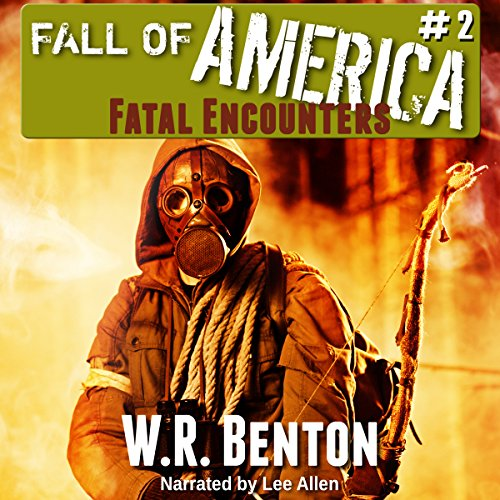 The Fall of America audiobook cover art