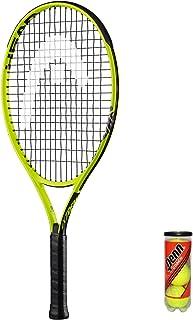 Head Extreme Junior - Raqueta de tenis (3 bolas, funda protectora), tamaño 26