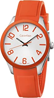 Calvin Klein Casual Watch For Unisex Analog Rubber - K5E51YY6