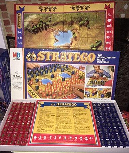 STRATEGO. Vintage 1982 Brettspiel von MB Games