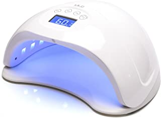 Nail Lamp Dryer 48W ULG UV LED Curing Nail Art Lamp for Fingernail Toenail Gel Nail Based Polishes Touch Screen with 4 Timer Setting