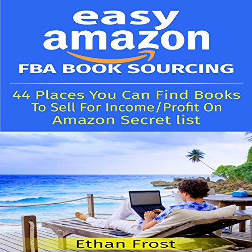 Easy Amazon FBA Book Sourcing audiobook cover art